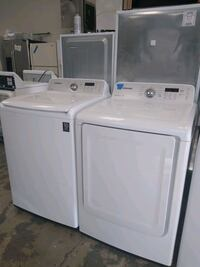 Washer and dryer set sumsung excellent condition Bowie, 20715