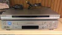 Sony DVD and VCR system