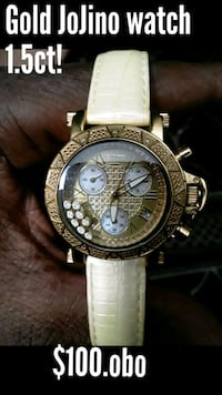 Authentic gold jojino watch .women  Baltimore, 21207
