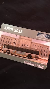 Monthly Pass card Providence, 02908