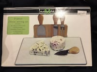 Cheese serving set (6pc) Port Coquitlam