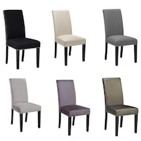 New star  dining room chairs come in many colours see pictures $110 Each tax included size Dimensions: Back height 39- Front height 18 Width 18.5 Length 20 Toronto, M9V 4T4
