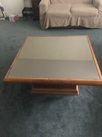 rectangular brown wooden coffee table London, N5V 2W2