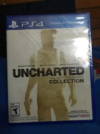 Uncharted Collection 1 2 3 serisi PS4