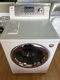 LG white front load washer  Woodbridge, 22191