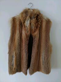 Vintage Fox fur vest from Holt Renfrew fur Calgary, T3K 0J5