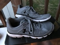 pair of gray Nike running shoes Johnson County, 66061