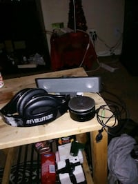 Blue tooth speaker and head set