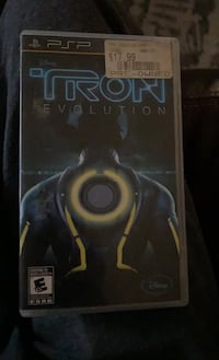 PSP tron video game