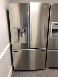LG STAINLESS STEEL FRENCH DOOR FRIDGE ( Yes we have the handles ) Charlotte, 28134