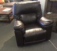 black leather recliner chair Nashville, 37211