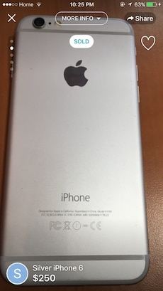 iPhone 6 16GB Unlocked - Read Description