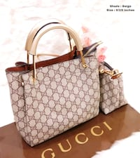 Tote bag in pelle Michael Kors monogram marrone e beige Provincia di Vicenza, 36050
