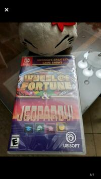 Switch game wheel of fortune and jeopardy 2 in one
