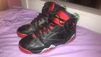 pair of black-and-pink Nike basketball shoes Toronto, M6H 3W8