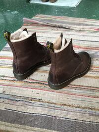 pair of brown leather work boots Alexandria, 22302