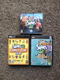 The Sims 2 with expansion packs RENO