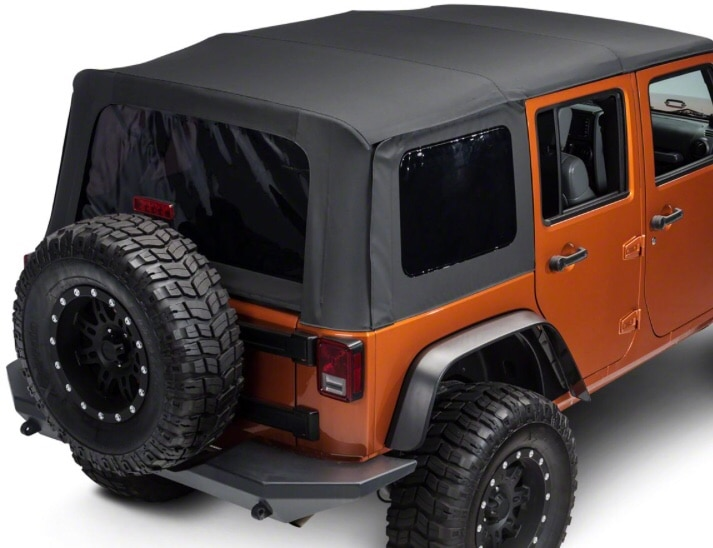 2010 2018 Jeep Wrangler Unlimited Soft Top Replacement