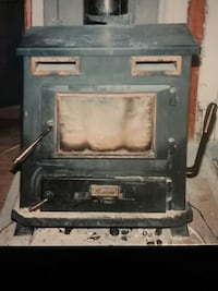 RUSSO COAL AND WOOD STOVE