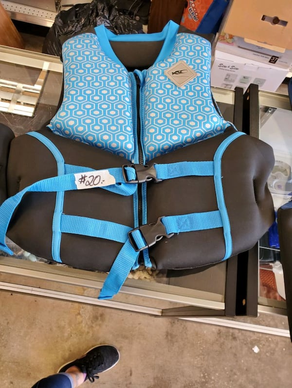 New, life jacket vests, $20 Each d6b7378a-e04e-412d-8091-ee083bda0cc1