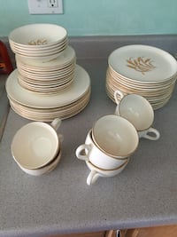 white ceramic dinnerware set Gaithersburg, 20882
