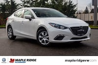 2015 Mazda Mazda3 GX BLUETOOTH, GREAT FUEL ECONOMY, LOCAL CAR!