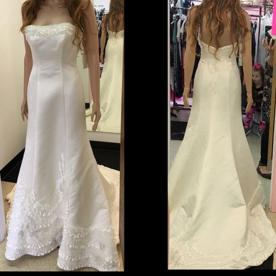 New With Tags Size 2 Wedding Gown $501