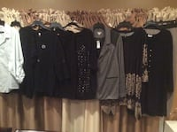 Women's Cardigan and tops Lot 9 Pieces Size 22/24 All For $39 Clifton, 07013