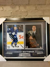Austin Matthew's framed rookie of the year picture Toronto, M4C 1B5