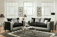BRAND NEW Silver Couch Set!!! Mableton