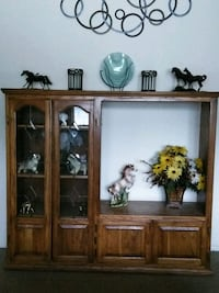brown wooden cabinet with mirror Norco, 92860