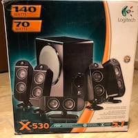Dolby Surround 5.1 Logitech X-530 Afragola, 80021