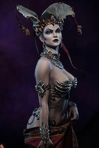 Queen Of The Dead Premium Format Figure - Sideshow PFF
