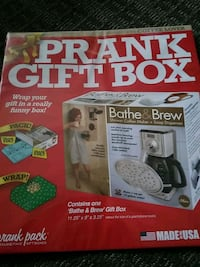 Prank gift box perfect for the coffee lover  Christmas box Mississauga, L4X 2V8