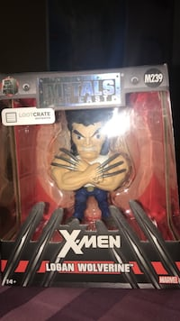 M239 Metals The Cast X-Men Logan Wolverine figure package null, S6V
