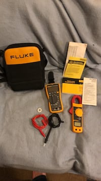 *BRAND NEW* Fluke 117 meter with seperate amp reader 913 mi
