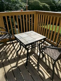 Indoor/Outdoor Stone Table and Chairs Arlington