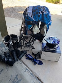 Motor cross large Thor riding gear 10 1/2 boots Los Lunas, 87031