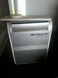 white and gray portable air conditioner Toronto, M9M 2N4