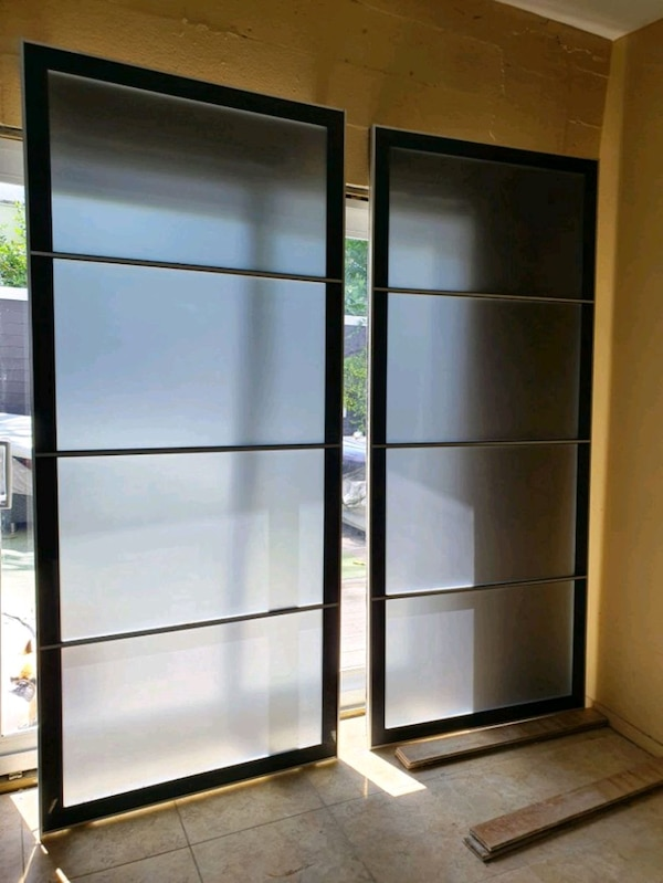 new styles c0b26 94b63 IKEA CLOSET GLASS SLIDING DOORS