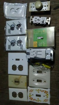 Old&New Eletrical Outlets & 2 Light Dimmer Switch Philadelphia, 19151
