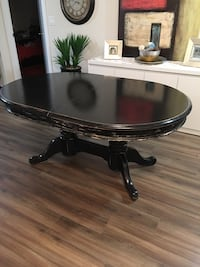Black Oval Dining Table /NEGOTIABLE