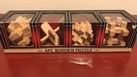 4PC Wooden Puzzle Ashburn, 20147