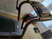 Health rider treadmill with flex striding and prog