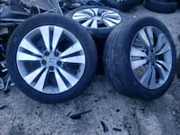 2008 to 2012 Honda accord auto wheels with tires Baltimore, 21215