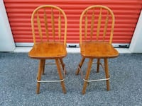 """2 COUNTER HEIGHT STOOLS (24""""TALL) Forest Hill, 21050"""