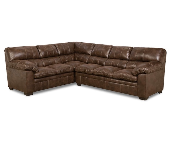 2 Piece Top Gun Sectional Sofa