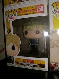 Genos One Punch Man Funko Pop Vaulted 258