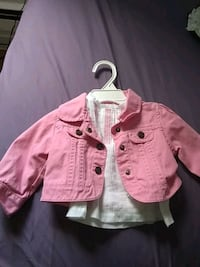 Baby Girl Blouse + Jacket - Brand New 534 km
