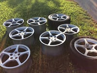 OEM Corvette C [TL_HIDDEN]  wheels 4 18in & 4 17in can be used on other vehicles Miami Gardens, 33055